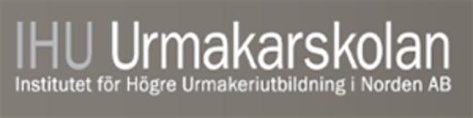 Urmakarskolan IHU logo