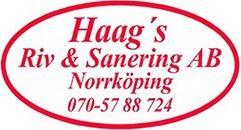 Haag's Riv & Sanering AB logo