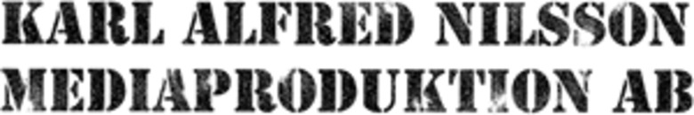 Karl Alfred Nilsson Mediaproduktion AB logo