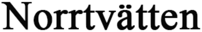 Norrtvätten logo