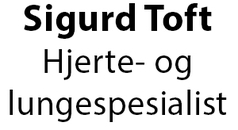 Sigurd Toft Hjerte og Lungespesialist logo