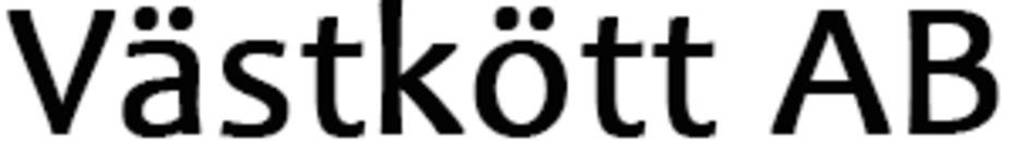 Västkött, AB logo