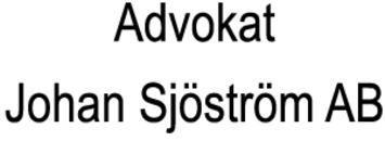 Advokat Johan Sjöström AB logo