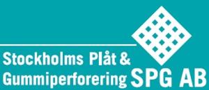 Stockholms Plåt & Gummiperforering SPG AB logo