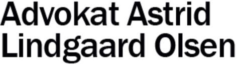 Advokat Astrid Lindgaard Olsen logo