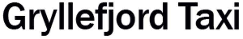 Gryllefjord Taxi logo