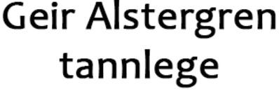 Alstergren Geir tannlege logo