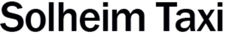 Solheim Taxi logo