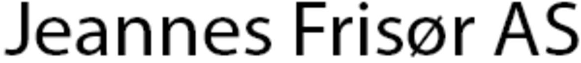 Jeannes Frisør AS logo
