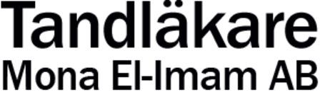 Tandläkare Mona El-Imam AB logo