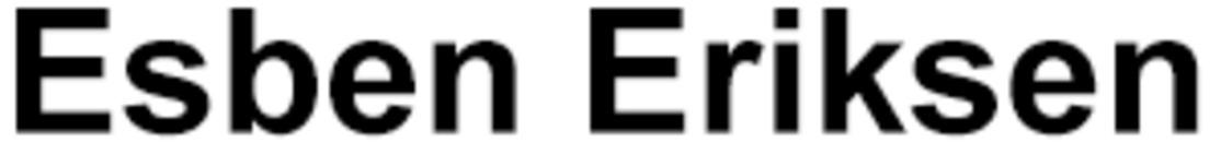 Esben Eriksen AS logo