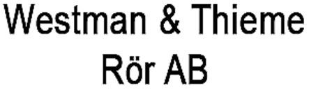Westman & Thieme Rör AB logo