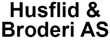 Husflid & Broderi AS logo