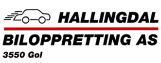Hallingdal Biloppretting AS logo