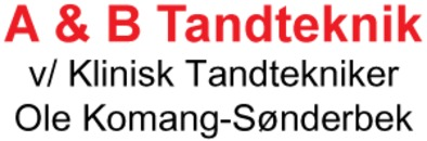 A & B Tandteknik v/ Ole Komang-Sønderbek logo