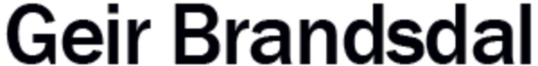 Geir Brandsdal logo