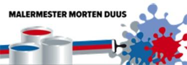 Malermester Morten Duus logo