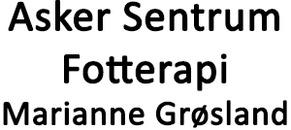 Asker Sentrum Fotterapi Marianne Grøsland logo