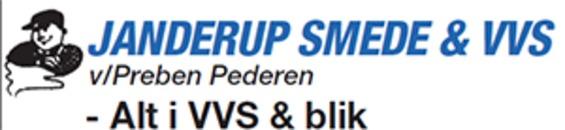 Janderup Smede- & Maskinforretning A/S logo
