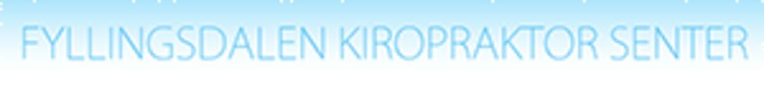 Fyllingsdalen Kiropraktorsenter AS logo