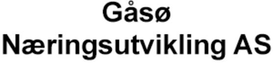 Gåsø Næringsutvikling AS logo