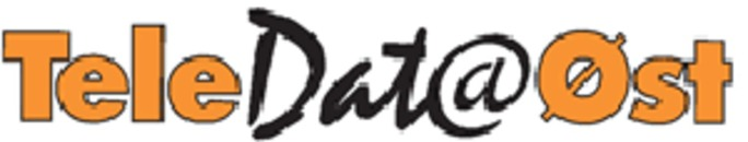 TeleDataØst Lillehammer logo
