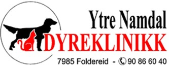 Ytre Namdal Dyreklinikk logo