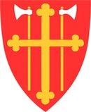 Den norske Kyrkja Bjerkreim kyrkjekontor logo