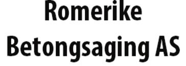 Romerike Betongsaging AS logo