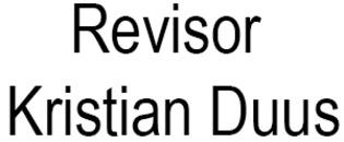 Revisor Kristian Duus logo