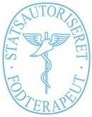 Klinik For Fodterapi. Frederiksberg Svømmehal. v/ statsaut. fodterapeut Merete Hansen logo