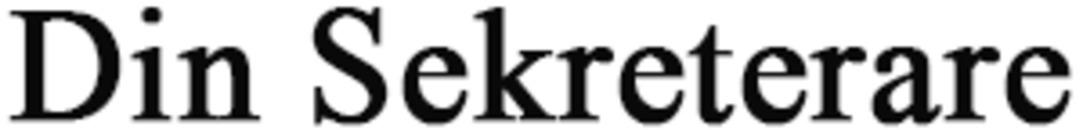 Din Sekreterare logo