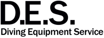 D.E.S. Diving Equipment Service logo