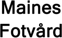 Maines Fotvård logo