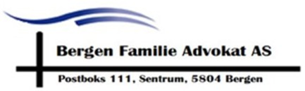Bergen Familie Advokat AS logo