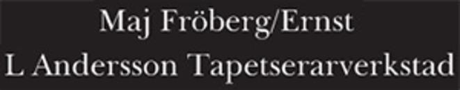 Andersson Ernst L. Tapetserarefirma logo