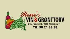 Rene's Vin & Grønttorv logo