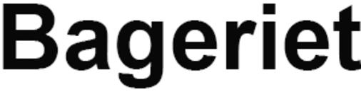 Bageriet logo