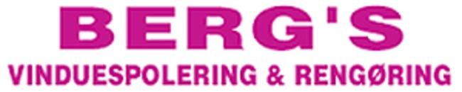 Bergs Vinduespolering & Rengøring logo