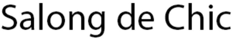 Salong de Chic logo