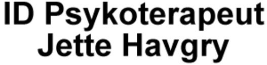 Id Psykoterapeut Jette Havgry logo