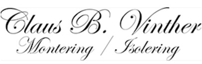 Montering / Isolering Claus B. Vinther logo