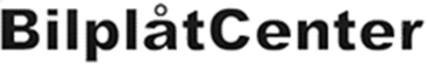 Bilplåtcenter logo