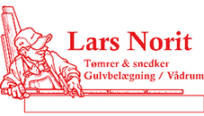 Lars Norit Tømrer og Snedkermester logo