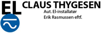 Aut. El installatør Claus Thygesen logo