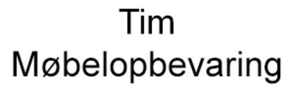 Tim Møbelopbevaring logo