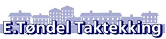 E Tøndel Taktekking AS logo