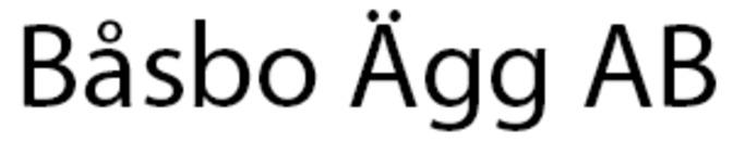 Båsbo Ägg AB logo