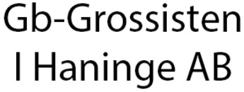Gb-Grossisten I Haninge AB logo