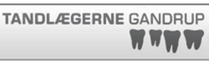 Tandlægerne Gandrup logo